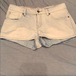 Light Blue Denim Roxy Shorts